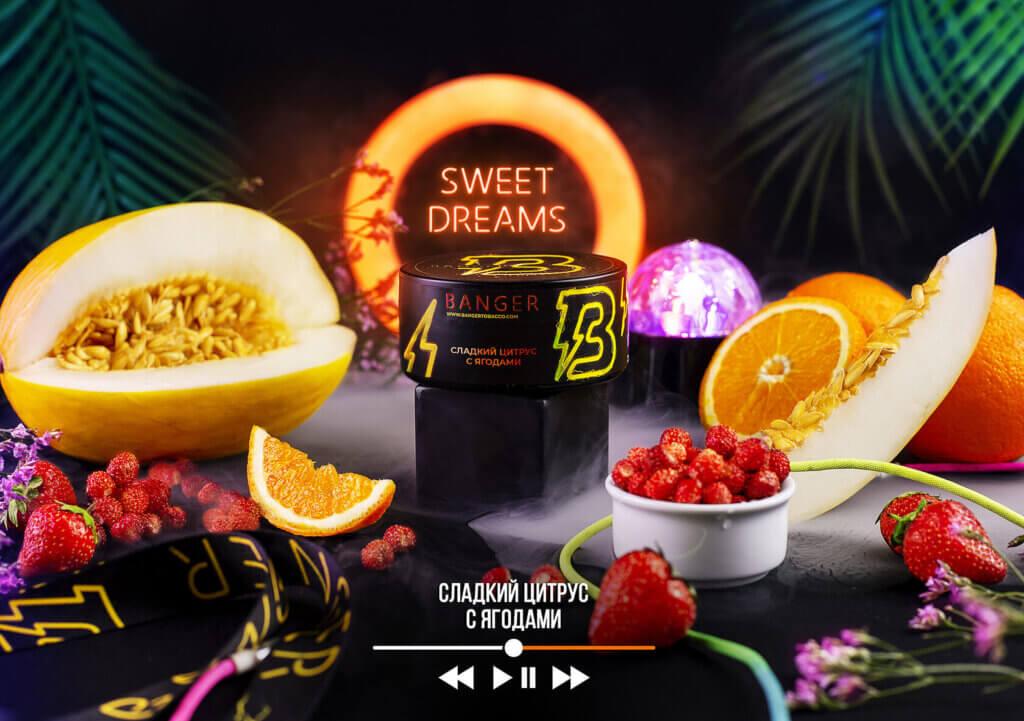 Табак Banger Sweet Dreams (Сладкий Цитрус с Ягодами)