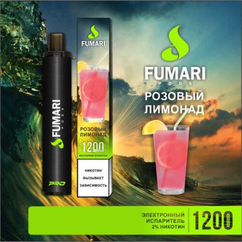 Одноразовая POD-система Fumari Розовый лимонад
