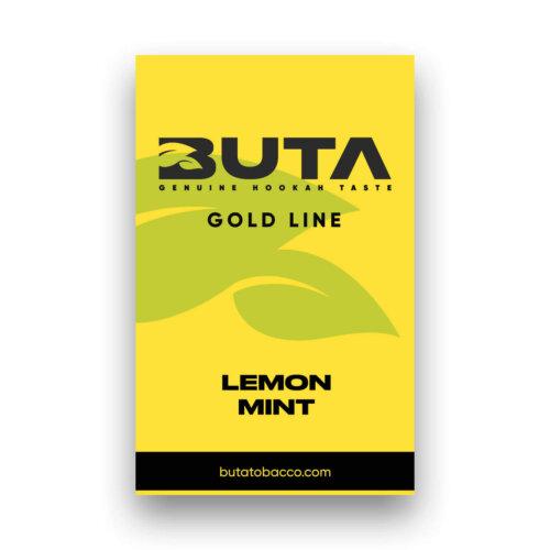 Табак Buta gold lemon mint (лимон мята)