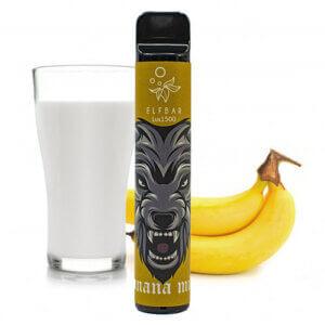 Elf bar lux 1500 Banana milk (Банан молоко)