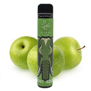 Elf bar lux 1500 Sour apple (Кислое яблоко)