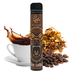 Elf bar lux 1500 Coffe tobacco (Кофе табак)
