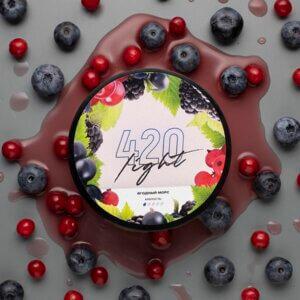 Табак 420 lite Ягодный морс 100 грамм