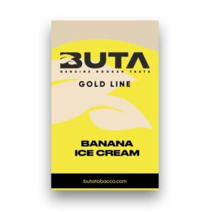 Табак Buta Gold - Банановое мороженое