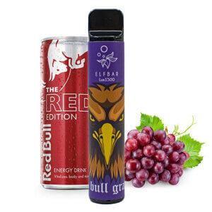 Elf Bar 1500 Grape energy